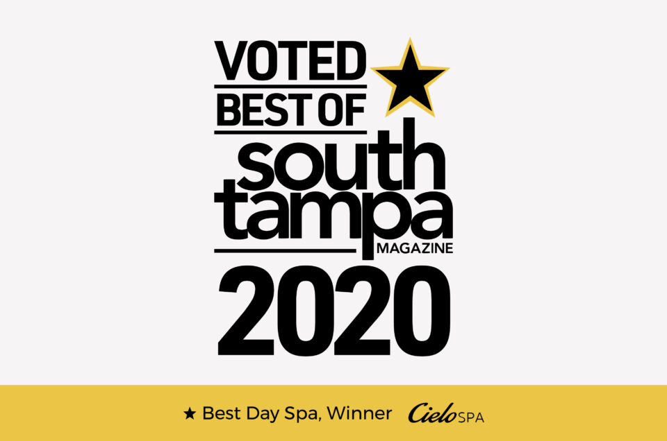 Voted Best Day Spa of South Tampa Magazine 2020